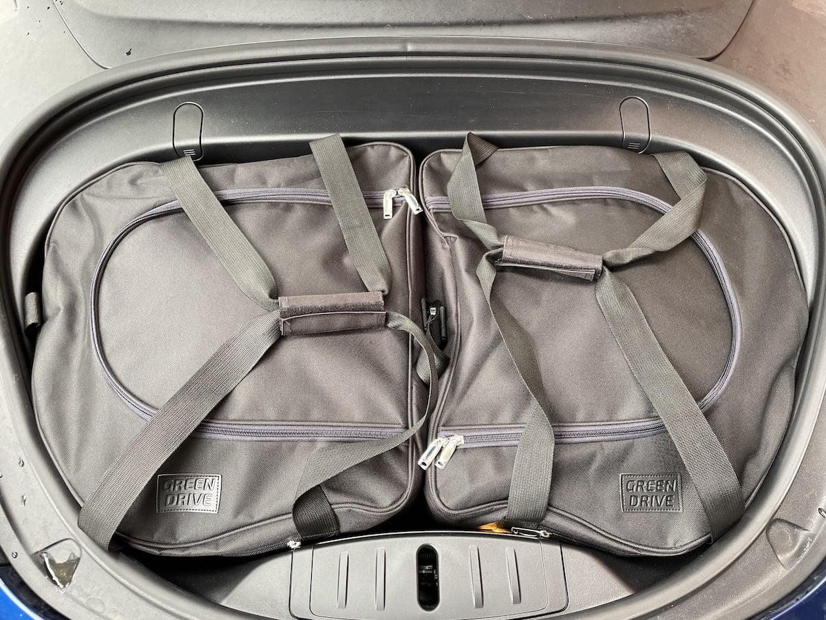 Frunk tassen top Model 3