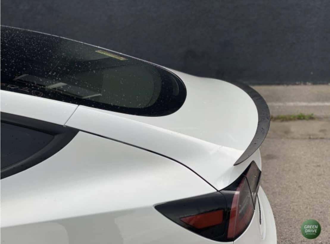 Model 3 - Performance spoiler