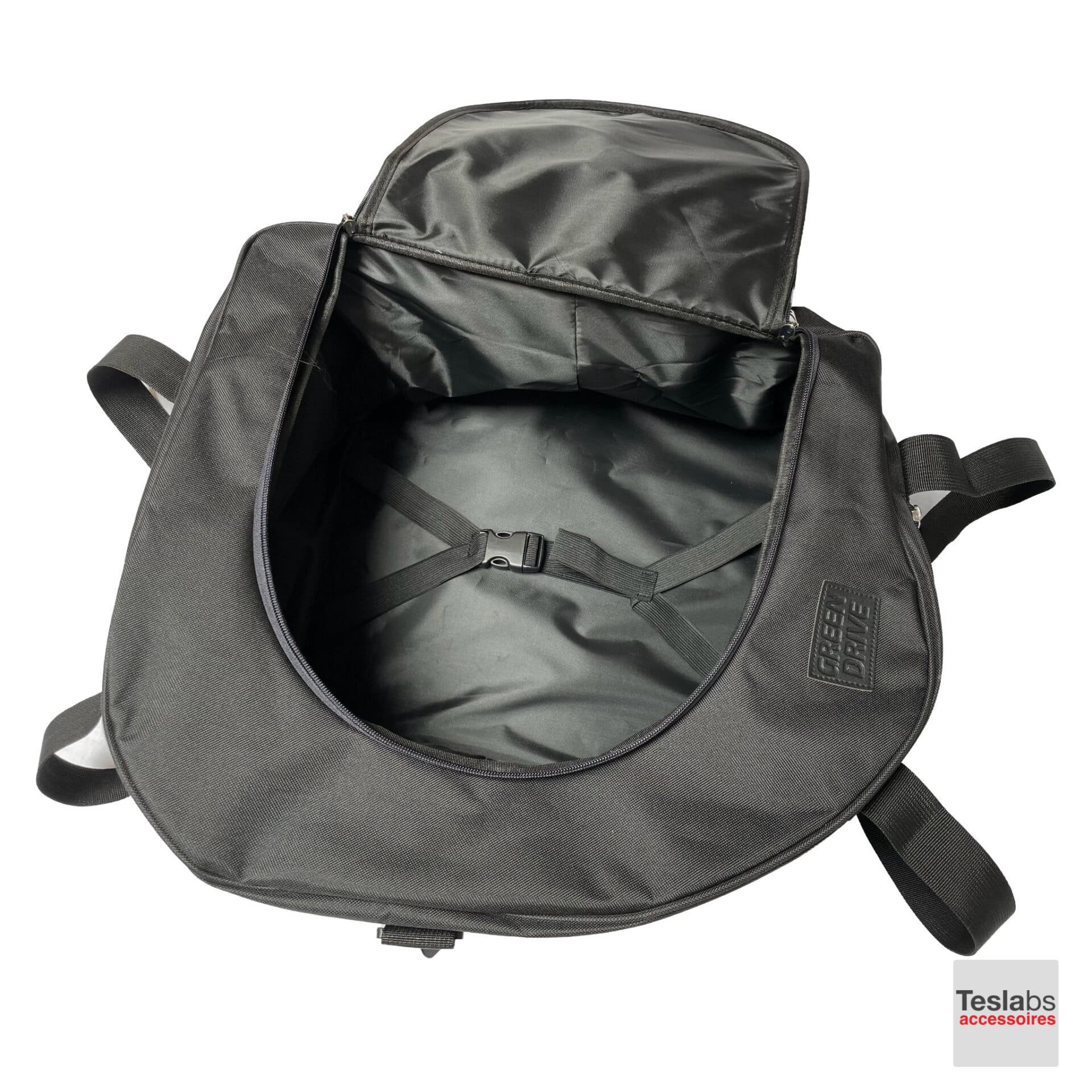 Model 3 Tas binnenkant bovenkant