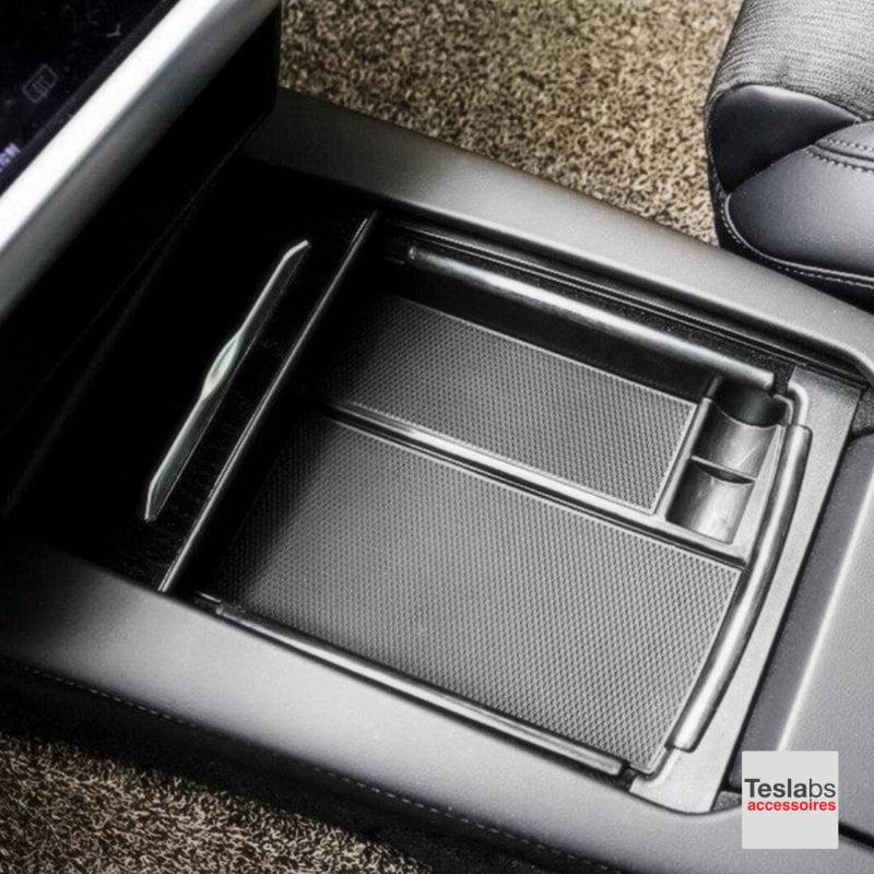 Model S - Organizer geïnstalleerd