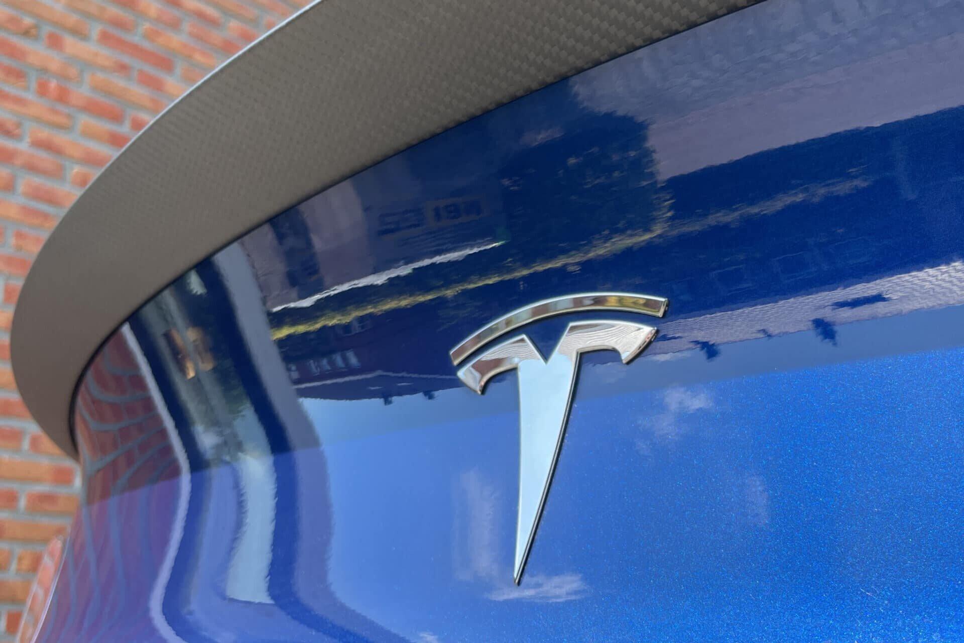 Tesla Model 3 - Spoiler onderkant