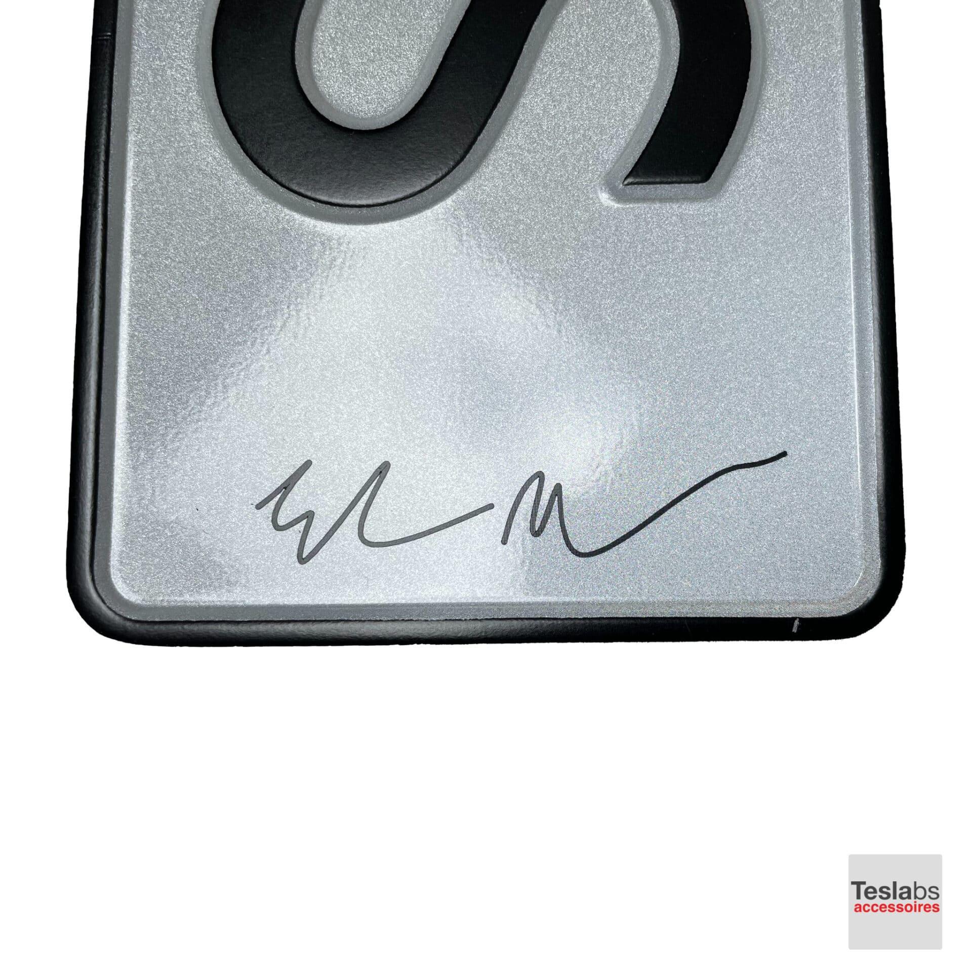 Elon Musk handtekening