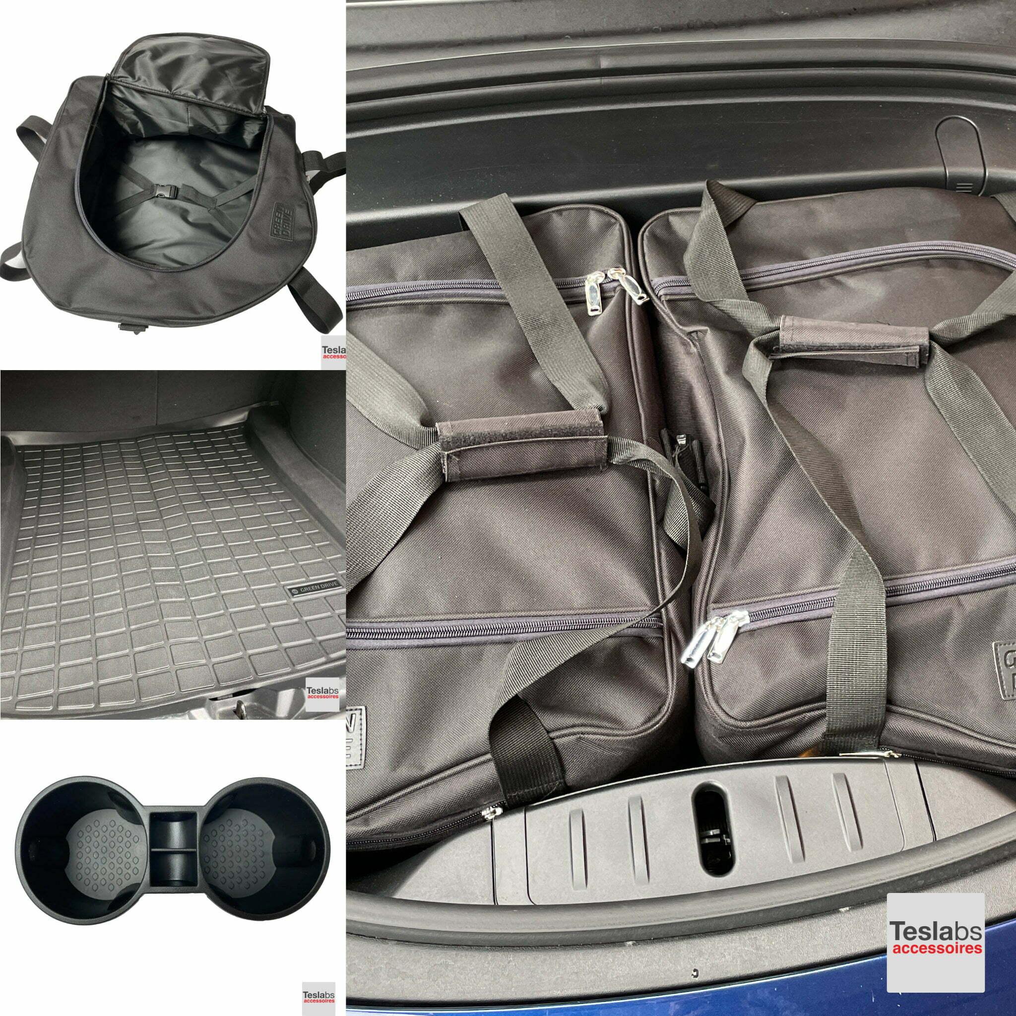 Tesla Model 3 - Travel essentials pakket