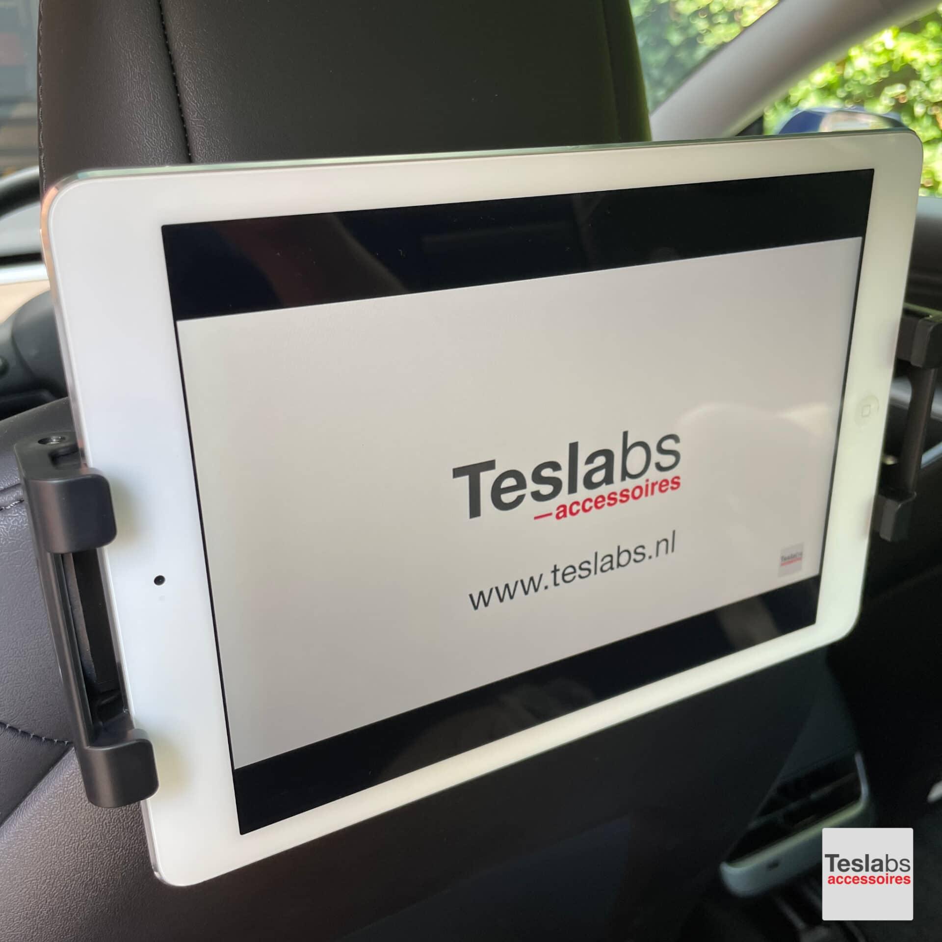 Tesla Model 3 tablethouder iPad