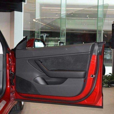 Geluidreductie kit voor deuren, achterbak en frunk – Tesla Model 3